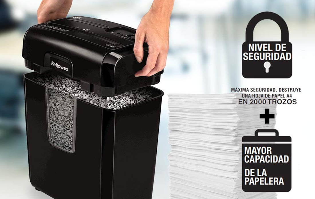 Destructoras de papel Fellowes
