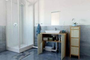 Triruradora maceradora de ducha y lavabo